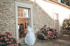 bride entering wedding hall - Schloss Altenhof Austria Austria, Bride, Wedding Dresses, Wedding Bride, Bride Dresses, Bridal Gowns, Bridal, Wedding Dressses