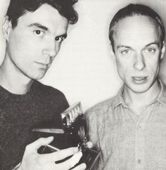 David Byrne & Brian Eno, #brianeno, #davidbyrne, #talkingheads