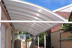 Curved Patio Covers In Doncaster
