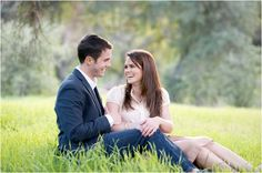 Placerita Canyon Natural Area Engagement Session // Photo Credit: Megan Hayes Photography // via Le Magnifique Blog
