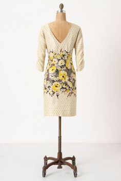 Peppered Plena Dress. Anthropologie. Sweet heavens...look at the back.