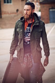 Billy Huxley for He by MANGO Blacksmith & Co. Collection