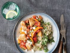Toasting the quinoa before cooking adds nuttiness to this quick dish. View Recipe: Chicken and Bell Pepper Sauté