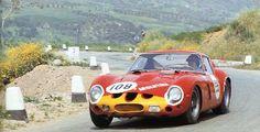 Juan Manuel Bordeu / Giorgio Scarlatti, #108 Ferrari 250 GTO, (Scuderia Centro Sud), Targa Florio 1963 (6th)