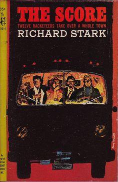 Paperback 579: Pocket Books 35014 (PBO, 1964)    Title: The Score  Author: Richard Stark (pseud. of Donald Westlake)  Cover artist: Harry Bennett