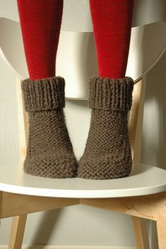 Super thick slipper socks.