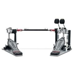 DW Drum Workshop 9000 Series Double Bass Drum Pedal with Case,