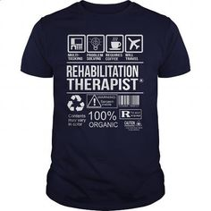 Awesome Shirt For Rehabilitation Therapist - #cool t shirts #t shirt creator. GET YOURS => https://www.sunfrog.com/LifeStyle/Awesome-Shirt-For-Rehabilitation-Therapist-Navy-Blue-Guys.html?id=60505