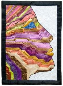 Face expression quilt