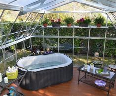 Get clever - use a Greenhouse DIY Kit to build your own She Shed and get yourself a beautiful garden room and a gateway place under the sky. #gardenshedkits