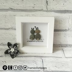 Hey, I found this really awesome Etsy listing at https://www.etsy.com/uk/listing/596355063/somebunny-loves-you-bunny-pebbles-pebble