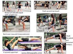 Fitnessista summer shape up, week 1.