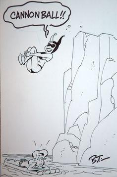 bruce timm sketch