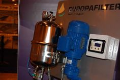 Europafilter exhibiting at IceFish 2014.