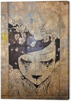 Obraz na Plátně Graffiti - street art