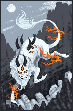 """BAI ZE is a fantastic MYTHOLOGICAL beast from Chinese legend. Its name literally means """"white marsh."""" Baí Zé, a very wise beast indeed, was encountered by the """"Yellow Emperor"""" or Huáng Dì while he was on patrol in the east. Thereafter the creature dictated to Huáng Dì a guide to the forms and habits of all 11,520 types of supernatural creatures in the world, and how to overcome their hauntings and attacks."""