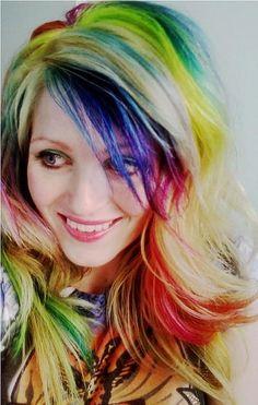 Coooool Rainbow Hair by wvernon2