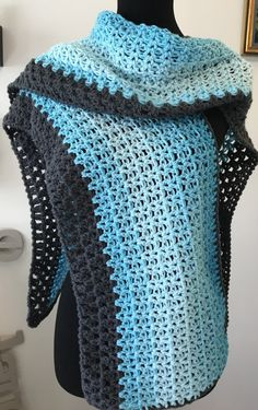 This pattern uses Red Heart's New Ombre Yarn….