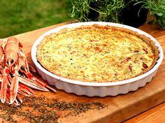 Glutenfri köttfärspaj med soltorkad tomat och oliver (kock Caroline Ahlqvist)