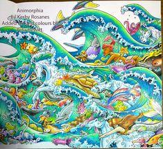 Wave Ponies. Kerby's style meets Peta's style. – La Artistino – Peta Hewitt