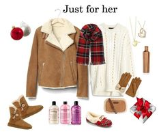 """""""Just for her"""" by veronababy on Polyvore featuring Alexander Wang, Gap, UGG, UGG Australia, philosophy, Corkcicle, Kurt Adler, Vionic and Lily Blanche"""