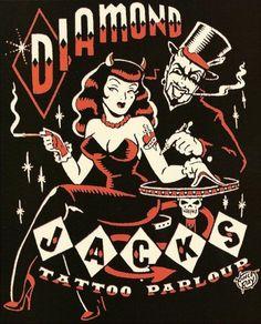 DIamond Jacks - Tattoo Parlour. > Vince Ray.