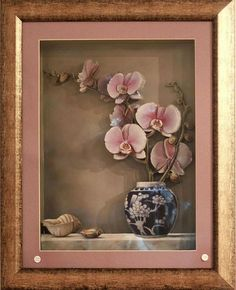 Ceramic Flowers, Clay Flowers, 3d Frames, Picture Boards, Decoupage Art, 3d Cards, Diy Clay, Handmade Home, Texture Art