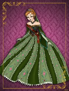 Queen Anna - Disney Queen designer collection by GFantasy92 on deviantART