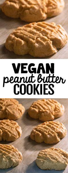 Vegan Peanut Butter Cookies, Healthy Chocolate Chip Cookies, Healthy Peanut Butter, Peanut Butter Recipes, Healthy Cookies, Healthy Sweets, Healthier Desserts, Flourless Chocolate, Keto Desserts