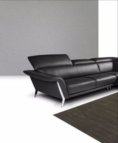 Heni Premium Sectional SKU18270 $2824 Description : We are proud to introduce the Heni premium Sectional by Nicoletti. Crafted in a durable thick Black Italian leather, the Heni Premium Sectional features clean lines & incorporates this into the unique legs designs for a ultra sleek finish. The Heni Sectional features 3 seperate ratchet headrests, elegant chrome legs, and crafted from thick premium grade italian leather. Features : Black Italian leather Clean lines & Incorporates 3 seperate…