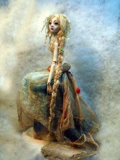 Rapunzel ball jointed doll AA by cdlitestudio.deviantart.com on @deviantART