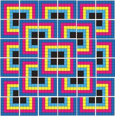 I made this quilt awhile back...and yeah, I posted it before, but it's good for another round, don't you think? From time to time, people get interested in this pattern on various forums, and mostly...