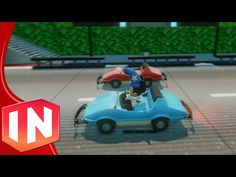 ▶ Disneyland Autopia Ride a Disney Infinity Toy Box preview - YouTube