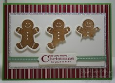 Cute gingerbread men card....time to try the slice feature in Design Space! I have cork sheets I could use for these guys