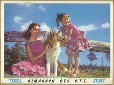 Almanach des Postes 1958 - Recto