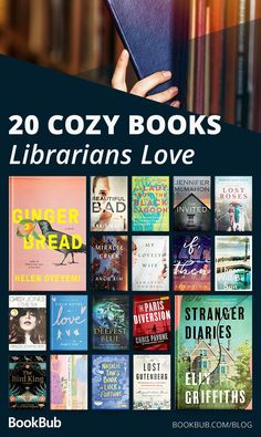 Librarians love these cozy books! New books to maybe read Best Books To Read, I Love Books, Good Books, My Books, Teen Books, Book Nerd, Book Club Books, Book Lists, Reading Lists