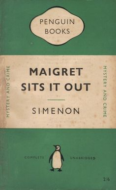 the maigret series is such an oldie/goodie