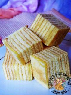 syapex kitchen: Kek Lapis Keju ( Cheese Layered Cake )