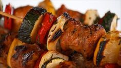 Giada De Laurentiis - Chicken Sausage Skewers