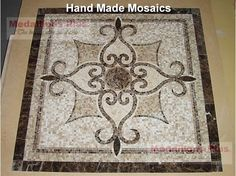 Mosaic Tile Flooring Designs | ... Www.zazzle.com ... Glasmosaik Bordre Bad
