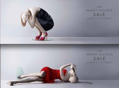 2009. After Christmas sale — incoming! | Harvey Nichols — The Best Fashion Ads Of The Last Ten Years