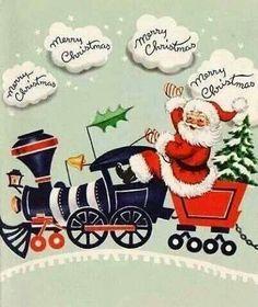 Santa's train!