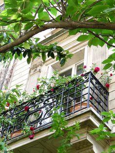 Balcony over Parc Monceau, Paris VIII