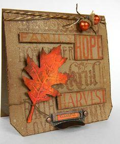 Shelly Hickox: Distress Thankful Autumn Tag Card http://rangerink.com/?ranger_project=distress-thankful-autumn-tag-card#