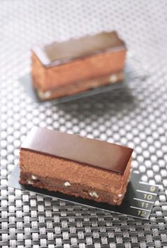 Truffle bars with hazelnuts