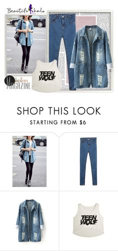 """""""Beautifulhalo 33"""" by minka-989 ❤ liked on Polyvore featuring women's clothing, women, female, woman, misses, juniors and bhalo"""