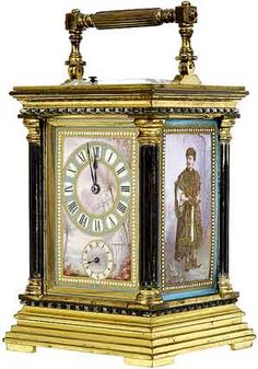 All About Antique Carriage Clocks