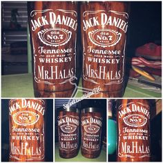 Whiskey Sour, Arts And Crafts, Diy Crafts, Tennessee Whiskey, Jack And Jack, Jack Daniels, Tumbler Cups, Wood Burning, Wood Grain
