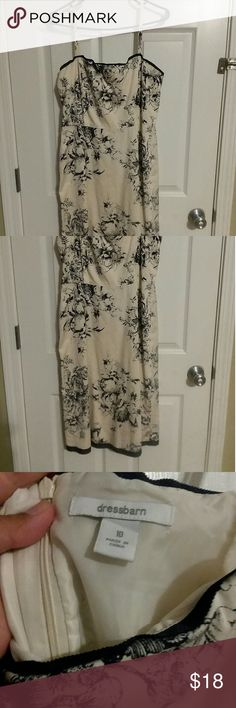 Women dress Summer dress. Like new. Never wore. Flare. Dress Barn Dresses Midi
