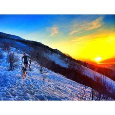 Sunset trail running in Utah. Thanks to @Brooke Gaynes on Instagram.
